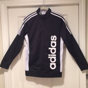 Adidas polyester jacket